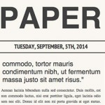 newspaper-layout-css