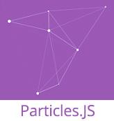 js particles JavaScript Kütüphanesi ile Etkileşimli Parçacıklar
