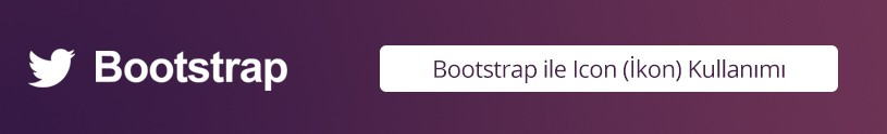 bootstrap-icon-kullanimi