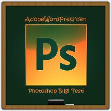 Photoshop Bilgi Testi
