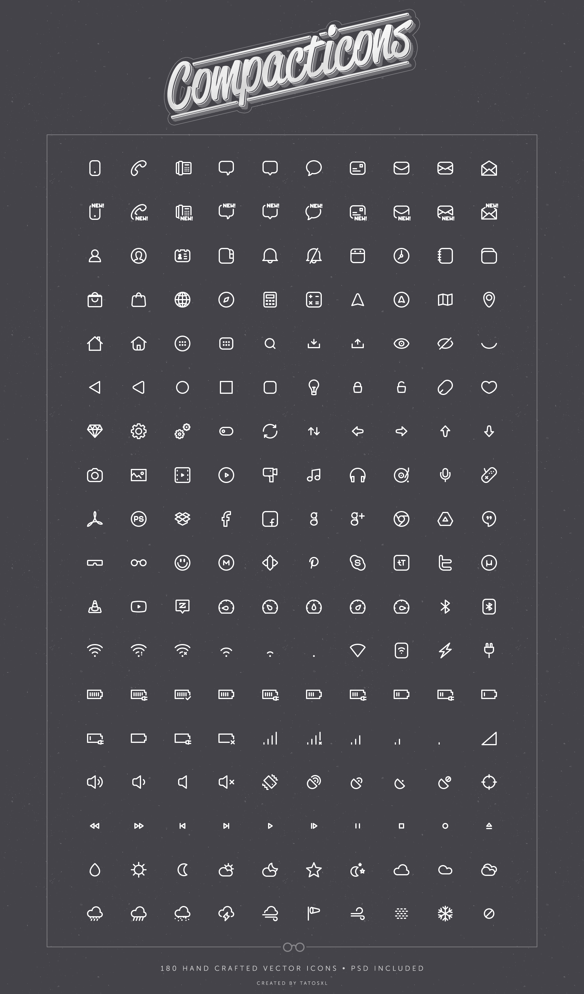 compacticons-mobile-icons