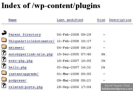 directory-browsing-wordpress