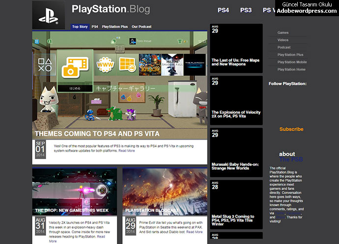 wordpress-playstation