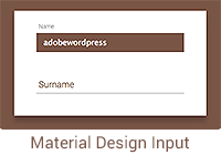 material-design-input