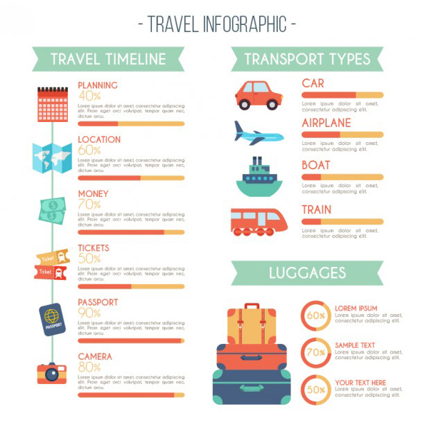 travel-infography-in-flat-design